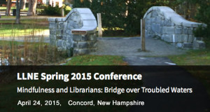 Save the Date: LLNE Spring 2015 Meeting, April 24 2015