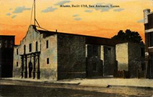 Alamo Postcard